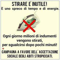 FB NON STIRARE
