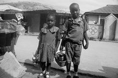 Kids ready for school in Ushafa Village FCT Abuja Nigeria | #JujuFilms #SchoolKids #UshafaVillage #Nigeria #Africa