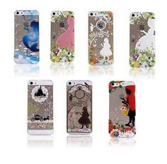 Disney-Princess-Clear-Transparent-TPU-Soft-PC-Back-Case-Cover-For-iPhone-5-5S