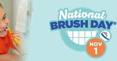 Mark your calendars for National Brush Day!