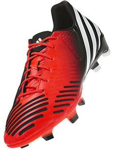 online retailer 8988a 6ab94 adidas Predator LZ TRX Soccer Cleats - Infrared with Running White and Black