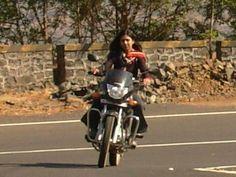 """india girls on bike welcomes-Women empowerment-Save A Girl Child-""""Beti Bachao-Beti Padhao"""" : biker girls 10"""