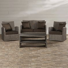 Found it at Joss & Main - 4-Piece Haley Patio Seating Group