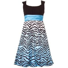 Size-10 RRE-55512E TURQUOISE-BLUE BLACK WHITE OMBRE ZEBRA PRINT Special Occasion Wedding Flower Girl Easter Party Dress,E455512 Rare Editions 7-16 Rare Editions, http://www.amazon.com/dp/B006UNTD90/ref=cm_sw_r_pi_dp_t5qBqb0MFZV1Z