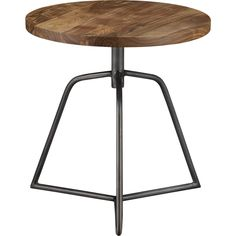dot acacia side table-stool in dining furniture