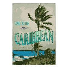 vintage caribbean posters | Bahama Island Posters & Prints
