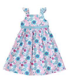 Pink Fairy Garden Dress - Toddler & Girls by Eternal Creations & Muchilunga on #zulily