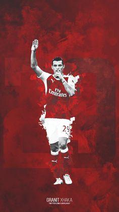 Once a gooner. Football Design, Football Art, Arsenal Football, Arsenal Fc, Arsenal Wallpapers, Granit Xhaka, Manchester United Wallpaper, Premier League Soccer, Game Wallpaper Iphone
