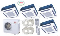 YMGI QUAD ZONE CASSETTE 12K 12K 24K 24K WMMS 60CH V2B592 Air Conditioner System