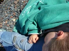Sleeping on the Beach