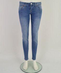 Herrlicher-Pansy-Slim-Damen-Jeans-5316-D9767-Damenjeans-Pitch-29-30-31-32-34-NEU Super Skinny, Skinny Fit, Skinny Jeans, Pitch, Herrlicher Jeans, New Reebok, Capri Jeans, Pansies, Slim