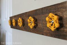The Sweet Survival: Faucet Handle Coat Hanger Rack (HoH117)