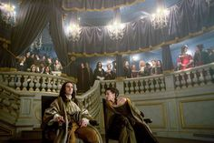 Images from season 2 of the canal+ series Versailles