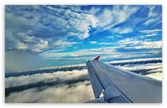 Rain in Sky Airplane Latest Wallpapers