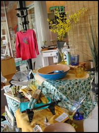 The Muse in downtown Frederick offers locally handmade gifts