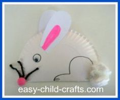 paper plate, foam or construction paper, cotton balls, pom pom, googly eye, pipe cleaner