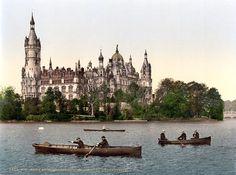 Schweriner Schloss, Schwerin, Germany.