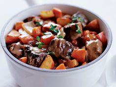 Beef Rib Eye and Vegetable Stew