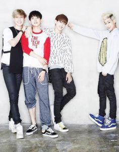 Yugyeom, Junior, Mark and BamBam