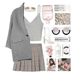 """Untitled #2805"" by tacoxcat ❤ liked on Polyvore featuring H&M, Isabel Marant, Miss Selfridge, New CID Cosmetics, Triumph and La Compagnie de Provence"