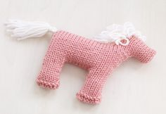 Rosy Pony Pattern (Knit)