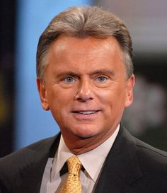 Pat Sajak- Game show host