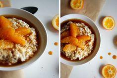 Porridge mit Gewürzorangen || Kochkarussell