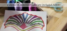 Exclusive embroidery designs