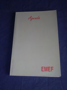 Livros&BD4sale: 4 Sale - Agenda EMEF 2004