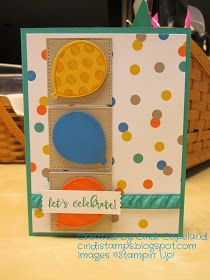 Hello and welcome back! I made a few birthday cards today for some friends who have their special day coming up this week. I used mostl...