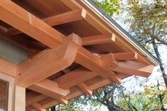 japanese roof framing - Google Search
