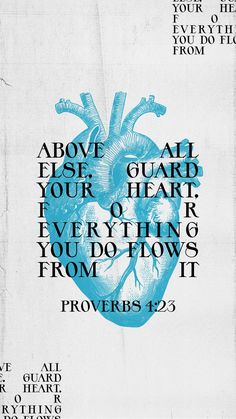 Biblical Quotes, Bible Verses Quotes, Jesus Quotes, Faith Quotes, Proverbs 4 23, Guard Your Heart, Bible Verse Wallpaper, Bible Encouragement, Empowerment Quotes