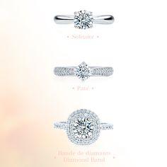 Quel est votre style de  préféré? • Which  style is your favorite? #engagementring #ring #jewelry #ido #joailleriestonge #wedding #justsaidyes