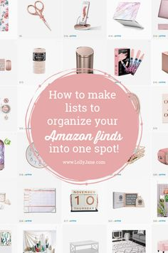 Save your favorite Amazon finds in one spot! Here are our favorite tips on how to shop using Amazon lists. All your favorite collections in one location! Best Amazon Buys, Amazon Beauty Products, Amazon Deals, Amazon Gifts, Amazon Tribe, Amazon Hacks, Amazon Purchases, Amazon Clothes, Things To Buy