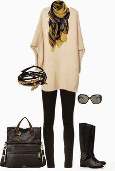 (2) Winter Comfy outfit - Bilder Land