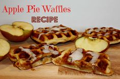 Apple Pie Waffles Re