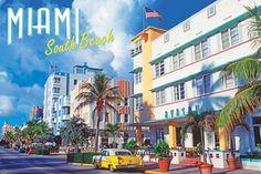 South Beach, what else? Miami, South Beach. Funky art deco. Brilliant. by MySoBe.com the website of South Beach!