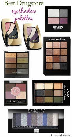 Best drugstore eyeshadow palettes via @beautytidbits