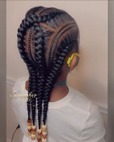 Little Girls Natural Hairstyles, Black Girl Braided Hairstyles, Black Kids Hairstyles, Cute Little Girl Hairstyles, Little Girl Braids, Baby Girl Hairstyles, Baddie Hairstyles, African Braids Hairstyles, Girls Braids
