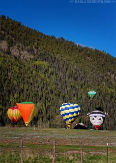 Telluride, CO Hot Air Balloon Festival 2013 | AMAZING Family Travel | FamilyFreshCooking.com