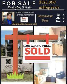 sold 100% asking price  www.lensel.net #Leonardselvaratnamh #scarborough #Toronto #RealEstate #thesix #the6 #gta #etobicoke #markham #richmondhill #vaughan #mississauga #brampton #ajax #pickering #oshawa #whitby #getrich #livethelife #follow #ownit #buyit #scarbTo #torontolife  #tdot #cntower #propertyinvestment #incomeproperty #sheridancollege #squareone #realtorsofcanada #realestateincanada #realestateflip #interiordesign #outdoorpool #condominiums #gorgeoushomes #luxury #luxuryliving