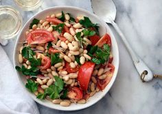 Tomato and White Bean Salad with Capers | 31 Fun Summer Dinners You Can Make Without A Grill