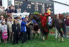 2000: Fusaichi Pegasus:      Fusaichi Pegasus came into the Derby as the favorite and won before finishing second at the Preakness Stakes.