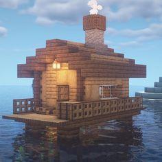 Cute Minecraft Houses, Minecraft Mansion, Minecraft Plans, Minecraft House Designs, Minecraft Survival, Minecraft Blueprints, Minecraft Crafts, Cool Minecraft, Minecraft Bedroom