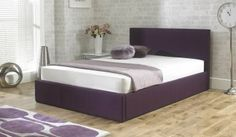 Buy Beds from our Bedroom range at The Haven Home Interiors. Ottoman Bed, Fabric Ottoman, King Comforter Sets, Bedding Sets, Plum Bedding, Buy Bed, Beds For Sale, King Beds, Luxurious Bedrooms