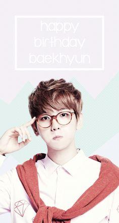 Happy Birthday Byun Baekhyun!