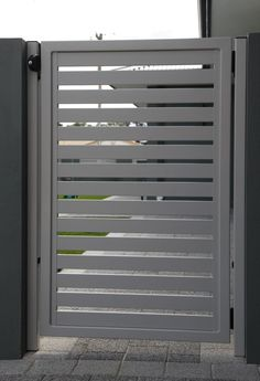 Image result for plain grey metal gate