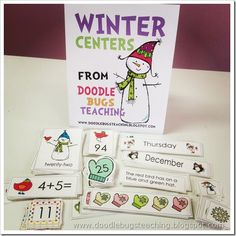 I am really excited to show you this Winter Center Pack that I had made and listed on Teachers Pay Teachers . It is seriously just wha...