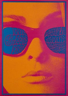 Concert poster by Victor Moscoso, 1967