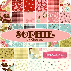 Love this fabric line. My next kid needs to be a girl so I can play in pinks!